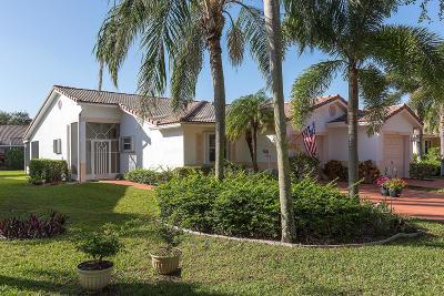 Boynton Beach Single Family Home For Sale: 104 Sausalito Drive #104