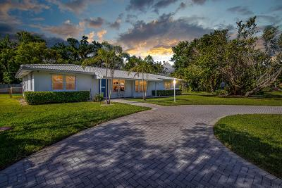 Delray Beach Single Family Home For Sale: 3210 Palm Drive