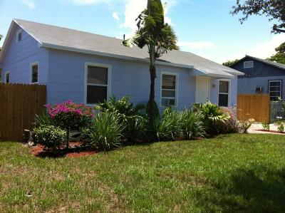 West Palm Beach Single Family Home For Sale: 808 33rd Street