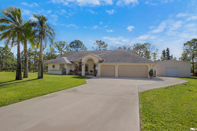 West Palm Beach Single Family Home For Sale: 12418 78th Place