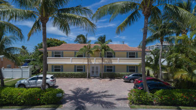 Palm Beach Shores Multi Family Home For Sale: 115 Tacoma Lane