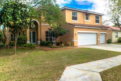Coconut Creek Single Family Home For Sale: 4480 NW 42 Terrace