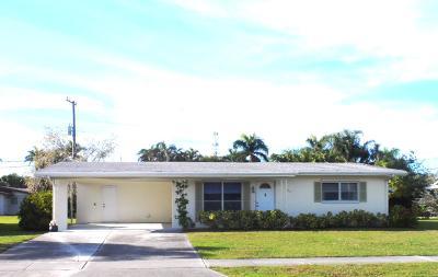 Port Saint Lucie Single Family Home For Sale: 2812 SE Morningside