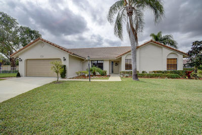 Boca Raton Single Family Home For Sale: 21947 Cricklewood Terrace