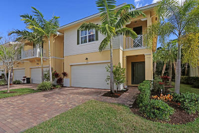 Palm Beach Gardens Townhouse For Sale: 1112 Piccadilly Street