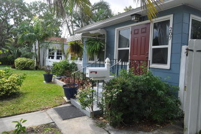 Lake Worth Single Family Home For Sale: 207 S K Street