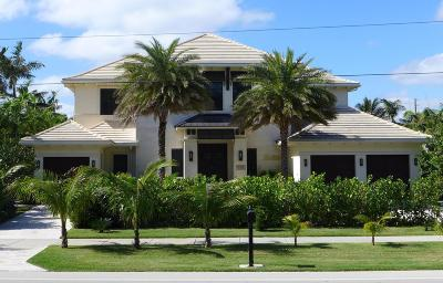 Delray Beach Single Family Home For Sale: 924 S Ocean Boulevard