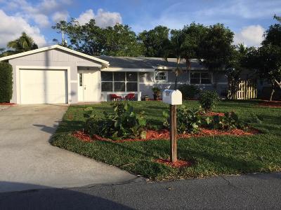 Boynton Beach Single Family Home For Sale: 2970 SE 1st Place