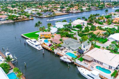 Fort Lauderdale Single Family Home For Sale: 39 Castle Harbor Island