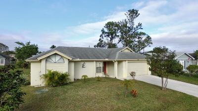 Port Saint Lucie Single Family Home For Sale: 2418 SW Summit Street