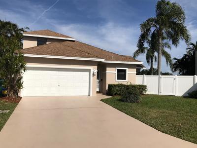 Boynton Beach Single Family Home For Sale: 71 Rosewood Circle