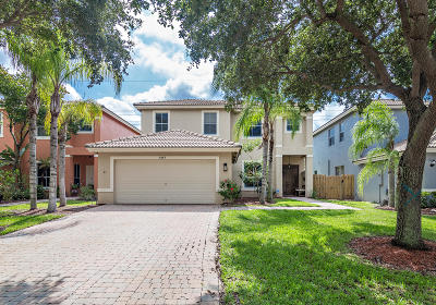 West Palm Beach Single Family Home For Sale: 3885 Torres Circle
