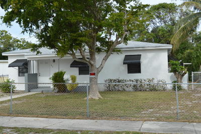 Lake Worth Single Family Home For Sale: 1218 14th Court S
