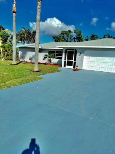 Port Saint Lucie, Saint Lucie West Single Family Home For Sale: 433 SE Skipper Lane