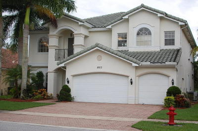 Boynton Beach Single Family Home For Sale: 8853 Woodgrove Ridge Court