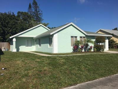 West Palm Beach Single Family Home For Sale: 5131 El Claro S
