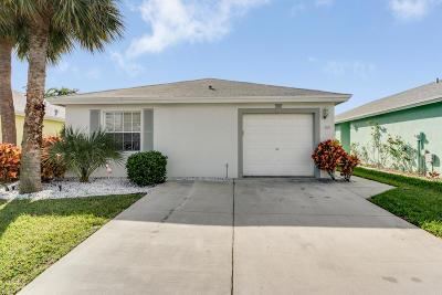 Boynton Beach FL Single Family Home For Sale: $249,000