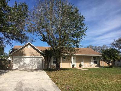 Fort Pierce Single Family Home For Sale: 1104 Heron Avenue
