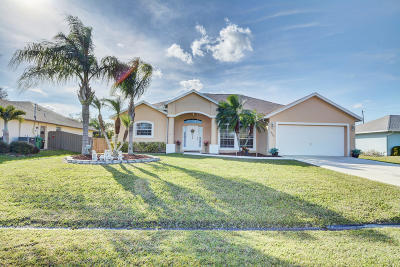 Port Saint Lucie Single Family Home For Sale: 3050 SE Wake Road