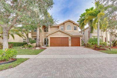 Delray Beach Single Family Home For Sale: 9535 Barletta Winds Point