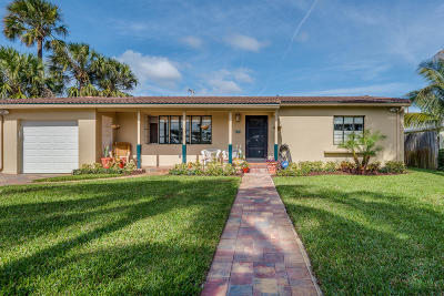 Boynton Beach Single Family Home For Sale: 611 NE 7th Avenue