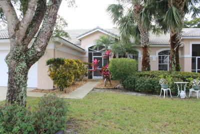 boynton beach Single Family Home For Sale: 7828 Rockford Road #7828