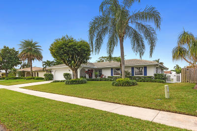 Boca Raton Single Family Home For Sale: 3465 NW 26th Court