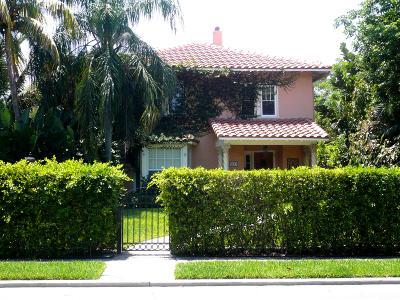 West Palm Beach Single Family Home For Sale: 3217 Washington Road
