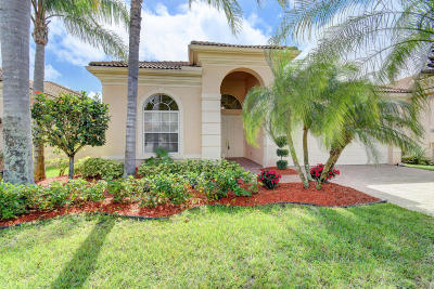 Delray Beach Single Family Home For Sale: 7231 Demedici Circle