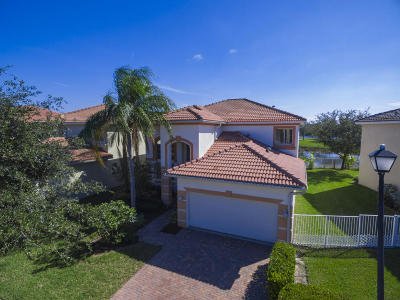 West Palm Beach Single Family Home For Sale: 720 Gazetta Way