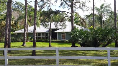 Jupiter Single Family Home For Sale: 17738 127th Drive
