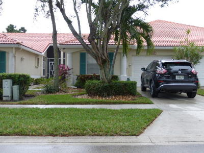 Delray Beach Single Family Home For Sale: 6180 Floral Lakes Drive
