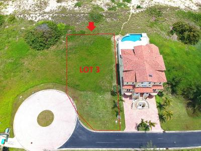 Hutchinson Island Residential Lots & Land For Sale: S Ocean Dr. Lot 3