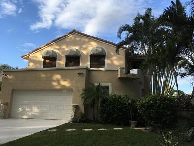 Delray Beach Single Family Home For Sale: 5099 Monterey Lane