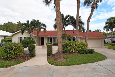 Vero Beach Single Family Home Contingent: 1530 Smugglers Cove