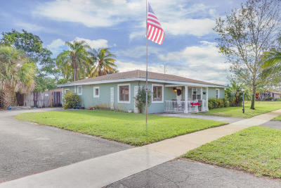 Lake Worth Single Family Home For Sale: 400 Martin Avenue