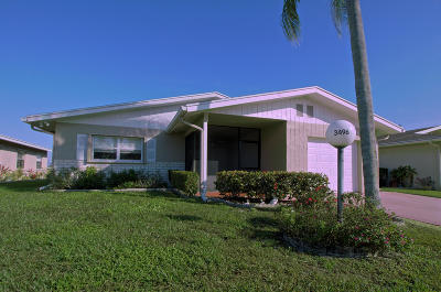 West Palm Beach Single Family Home For Sale: 3496 Amalfi Drive