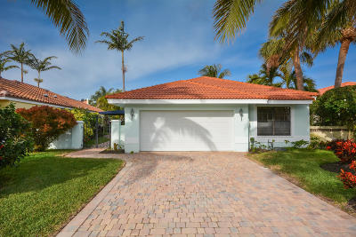 Delray Beach FL Single Family Home For Sale: $699,900