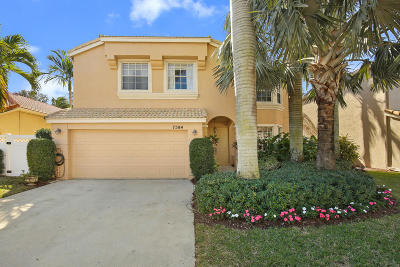 Lake Worth Single Family Home For Sale: 7584 Great Oak Drive