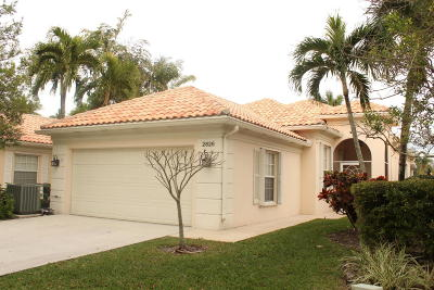 West Palm Beach Single Family Home For Sale: 2826 James River Road