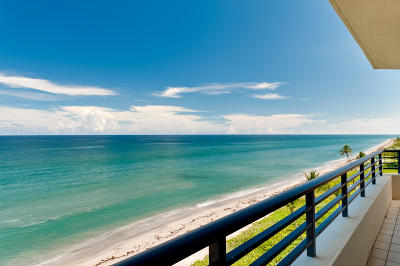 Palm Beach Condo For Sale: 3100 S Ocean Boulevard #603s