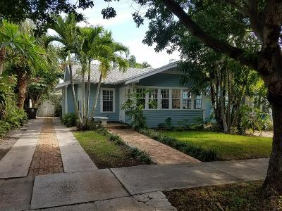 West Palm Beach Single Family Home For Sale: 734 New York Street