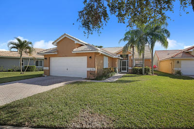 Delray Beach Single Family Home For Sale: 5362 Grande Palm Circle