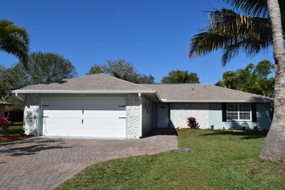 Fort Pierce Single Family Home For Sale: 5713 Eagle Drive