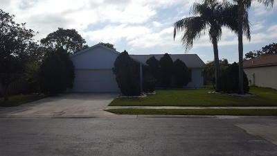 Jupiter Single Family Home For Sale: 150 Arrowhead Circle