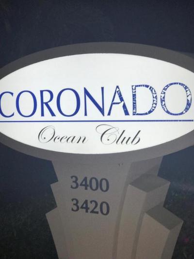 Highland Beach Condo For Sale: 3400 S Ocean Boulevard #9k