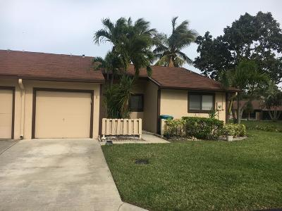 Boynton Beach Single Family Home For Sale: 1 Finsbury Lane