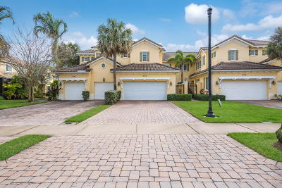 Palm Beach Gardens Townhouse For Sale: 4770 Cadiz Circle