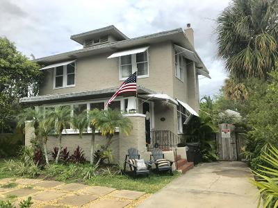 West Palm Beach Single Family Home For Sale: 719 Park Place