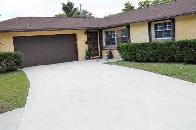West Palm Beach FL Single Family Home For Sale: $339,000